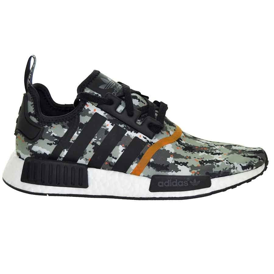 Adidas Nmd R1 Camo Orange Us9 Eur 42 2 3 Sample Laceito