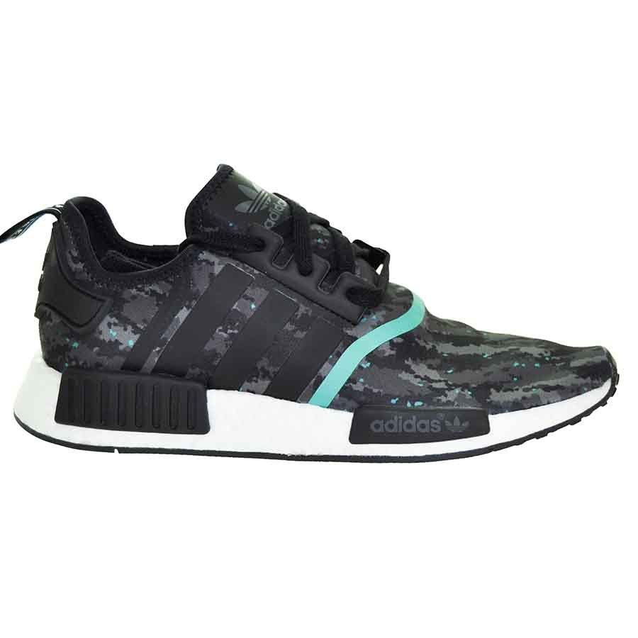 adidas nmd r1 camo teal us9 eur 42 2 3 sample laceito. Black Bedroom Furniture Sets. Home Design Ideas